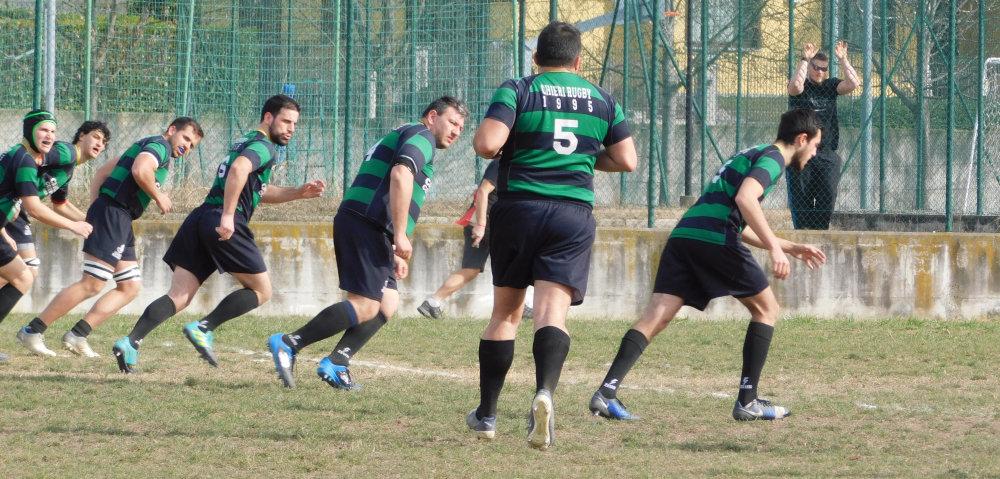 Calcio di inizio del Chieri Rugby